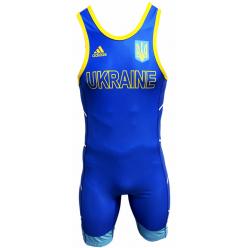 Трико для борьбы Adidas Ukraine UWW 2