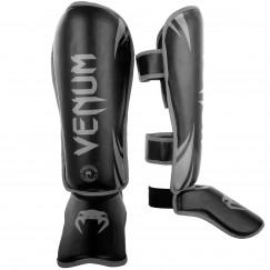 Защита голени и стопы Venum Challenger Standup Black Grey