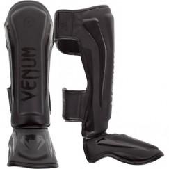 Защита голени и стопы Venum Elite Matte Black